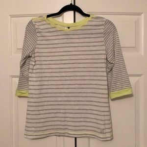 Kenneth Cole Reaction Striped Top